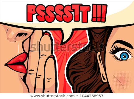 women lips wow Stock photo © rogistok