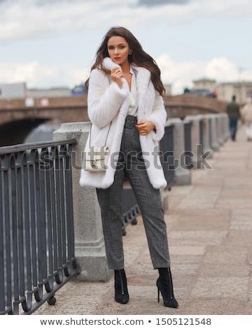 Image élégant femme cheveux longs Photo stock © deandrobot