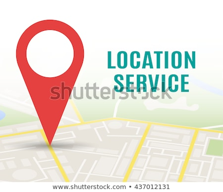 Algemeen stad kaart pin abstract straat Stockfoto © Zerbor