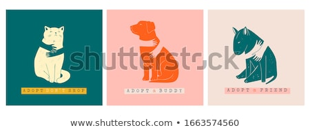 Animal shelter concept vector illustration Stock photo © RAStudio