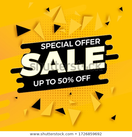Big Sale Promotion Posters Vector Illustration Stock photo © robuart