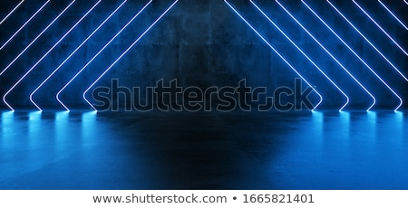 dark blue background with abstract pink lines stock photo © sarts