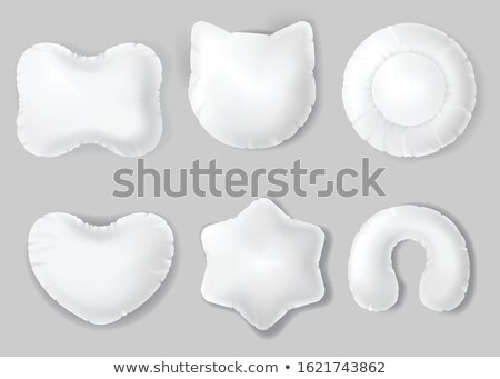 Pillow In Heart Form For Comfortable Sleep Vector Stock photo © pikepicture