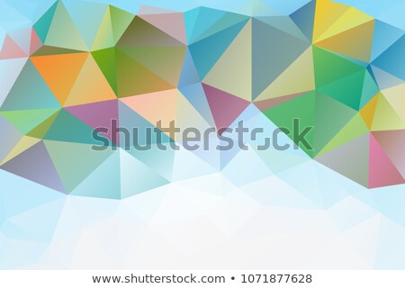 Gemstone diamond or shiny glass texture kaleidoscope Stock photo © Arsgera