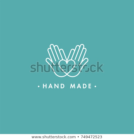 Vector hand made label Stock photo © ShustrikS