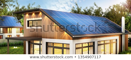 solar collectors stock photo © pancaketom