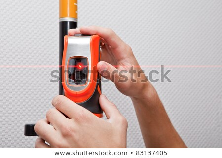 laser level gage Stock photo © angelp