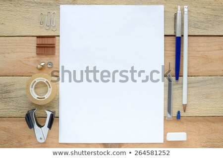 Staple remover and paper. Stock photo © iofoto