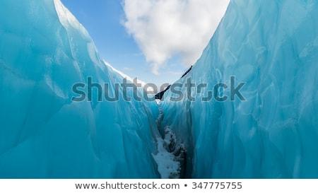 Fox glacier Nouvelle-Zélande panorama paysage parc Photo stock © vichie81