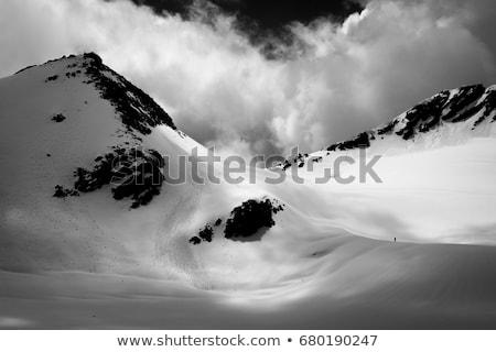 крест небольшой колючую проволоку спорт горные Сток-фото © Antonio-S