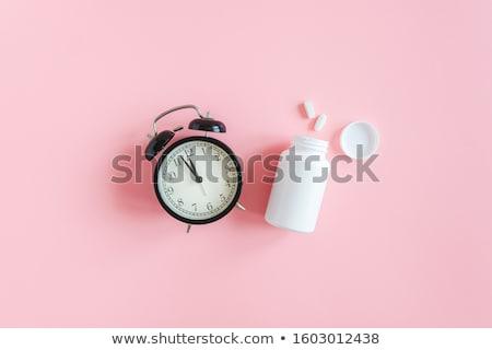 prescripción · reloj · salud · medicina - foto stock © devon