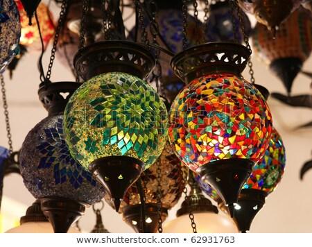Handmade Turkish Lantern Stock photo © HypnoCreative