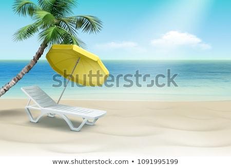 esernyők · fa · kék · útvonal · fa · levél - stock fotó © artush