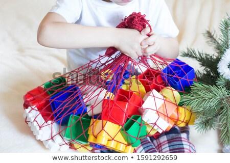 blocos · isolado · brilhante · cor · carta · comunicação - foto stock © pzaxe