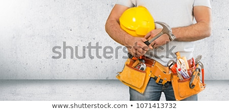 electrician with a measurement tool Stock photo © photography33