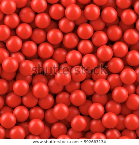 small red balls stock photo © ciklamen