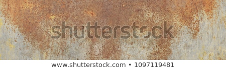 Rusting on surface of iron wall Stock photo © pzaxe