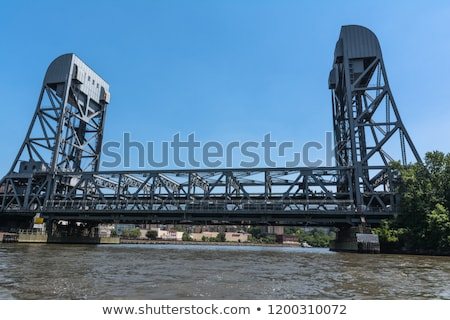 Broadway brug water weg stad bouw Stockfoto © jadthree