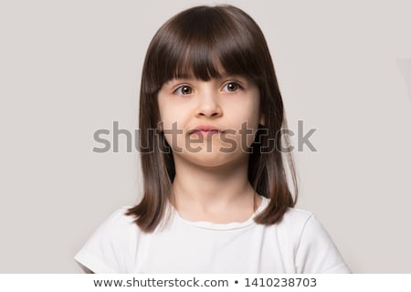 A little girl sulking. Stock photo © photography33