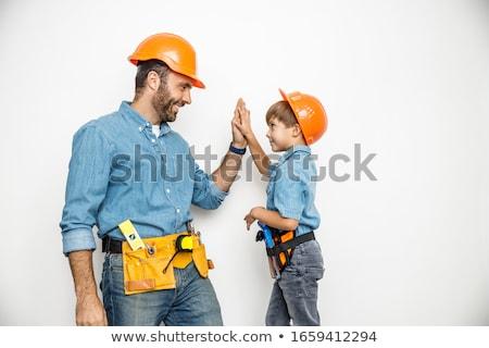 A little boy carpenter. Stock photo © photography33