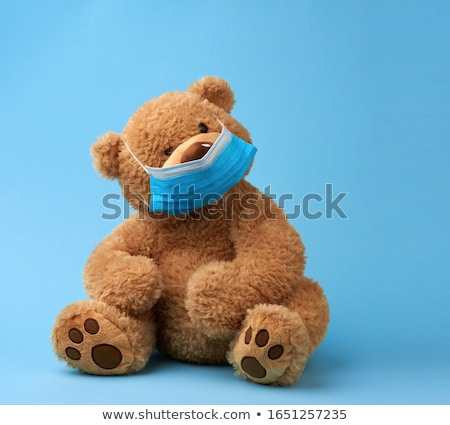 Medical mask and teddy Stock photo © photography33