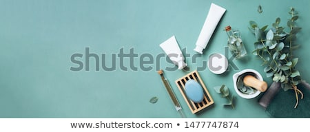 bottles of health and beauty products cosmetic stock photo © shutswis