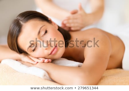 Woman on massage parlor Stock photo © photography33