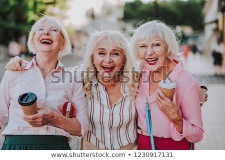 Glamorous mature lady Stock photo © pressmaster