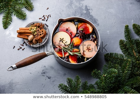 Mulled Wine and Spices Stock photo © zhekos