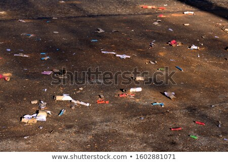 Waste after the New Year Stock photo © photochecker