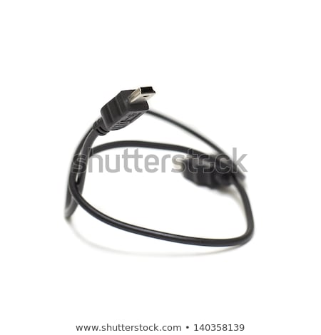 mini usb black conexion stock photo © jarp17