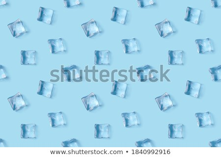natuurlijke · Blauw · ijs · textuur · koud - stockfoto © lunamarina