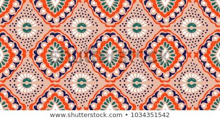 seamless mexican pattern stock photo © sahua