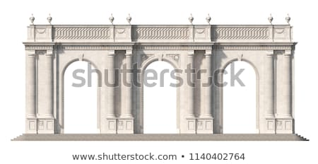 Stock photo: Columns and Arches