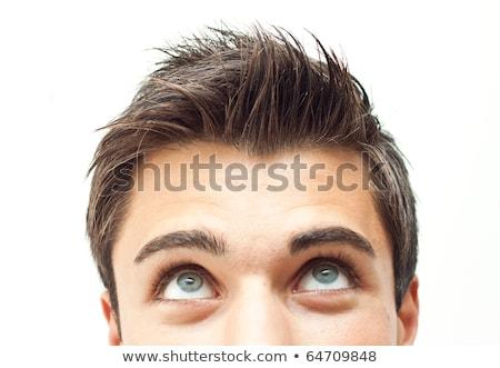 gut · aussehend · jungen · nachdenklich · Geschäftsmann · Denken · etwas - stock foto © stockyimages