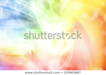 abstract orange pink background with shining white lines and fra Stock photo © marinini