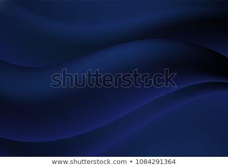 Abstrato linha curva gradiente azul cor Foto stock © Kheat