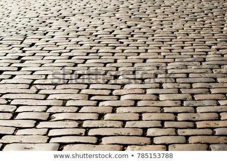an old cobbled road stock photo © marekusz