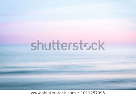 Pink sunset on Atlantic ocean Stock photo © smithore