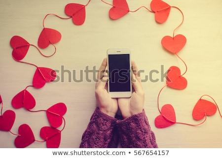 Wife in Search String on Smartphone. Stock photo © tashatuvango