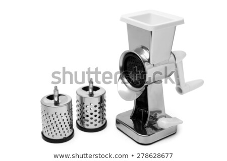 Stock photo: Isolated Rotary Cheese Grater