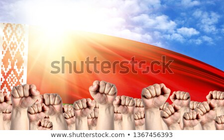 Belarus Labour movement, workers union strike Stock photo © stevanovicigor