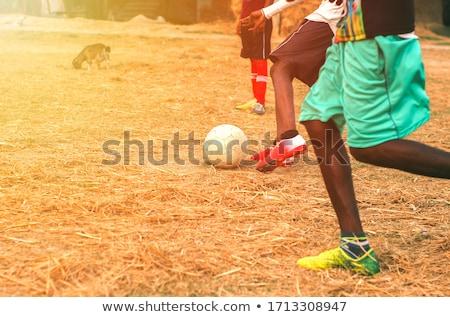 soccerball in festive lighting Stock photo © ssuaphoto