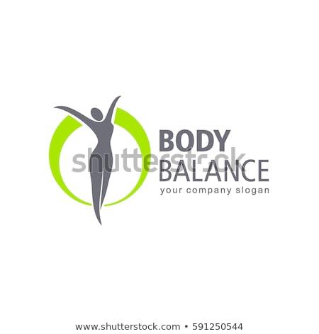 Mooie lichaam meisje sexy fitness Stockfoto © fantazista