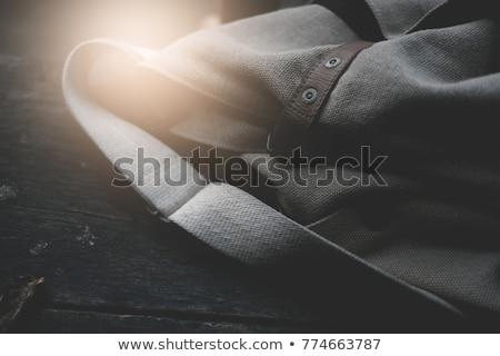 black canvas laptop bag  Stock photo © ozaiachin