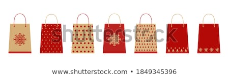 Christmas Paper Bag Design Stock photo © m_pavlov