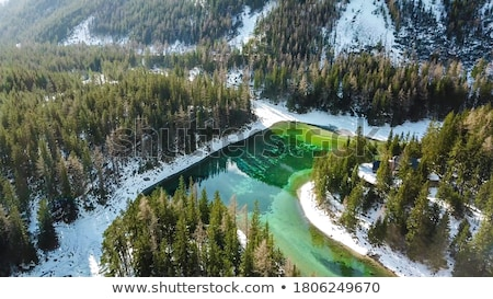 Aerial view of Austrian Alps Stock photo © romitasromala