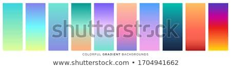 Mooie kleurrijk helling groene Blauw oranje Stockfoto © gubh83