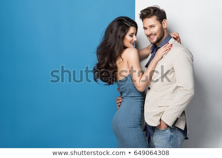 bonito · moço · nu · torso · nu - foto stock © restyler