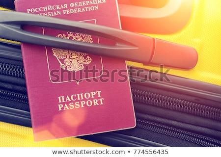 Russia  under zipper Stock photo © fuzzbones0